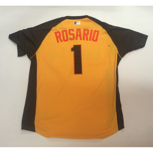 Photo of 2016 All-Star Futures Game Auction - Rosario #1 Game-Used World Batting Practice Worn Jersey