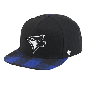 Toronto Blue Jays Verge Plaid Strapback by '47 Brand