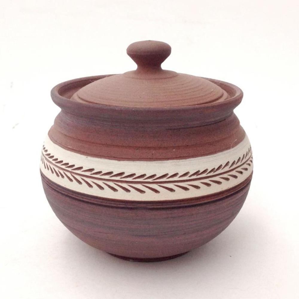 Eugenijus Tamosiunas - Hand Made Ceramic Jar with Lid! Hand Signed by the Artist!