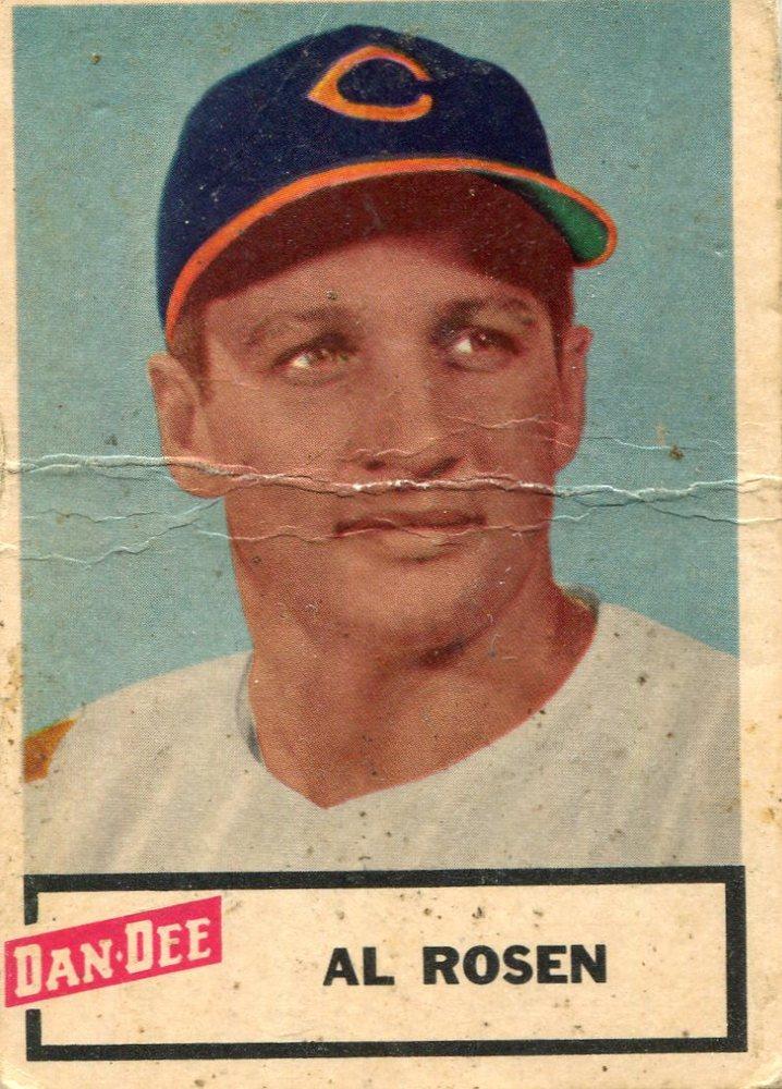 1954 Dan-Dee #21 Al Rosen