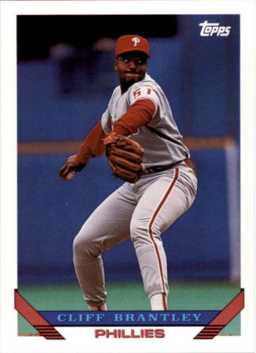 Photo of 1993 Topps #773 Cliff Brantley
