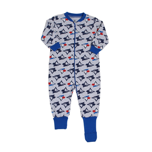 Toronto Blue Jays Infant Convert All Over Logo Foot Sleeper by Snugabye