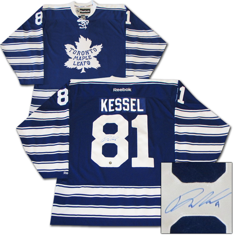 Phil Kessel Autographed Toronto Maple Leafs 2014 NHL Winter Classic Jersey
