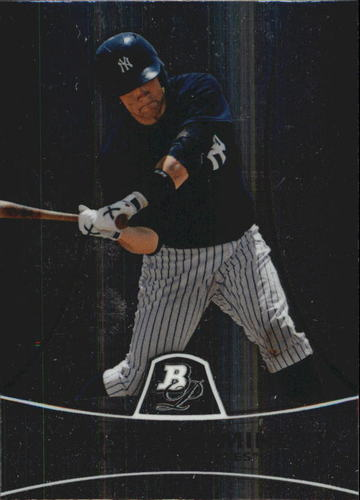 Photo of 2010 Bowman Platinum Prospects #PP19 Austin Romine -- Yankees post-season
