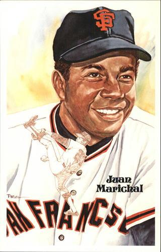 Photo of 1980-02 Perez-Steele Hall of Fame Postcards #183 Juan Marichal -- Set #08689