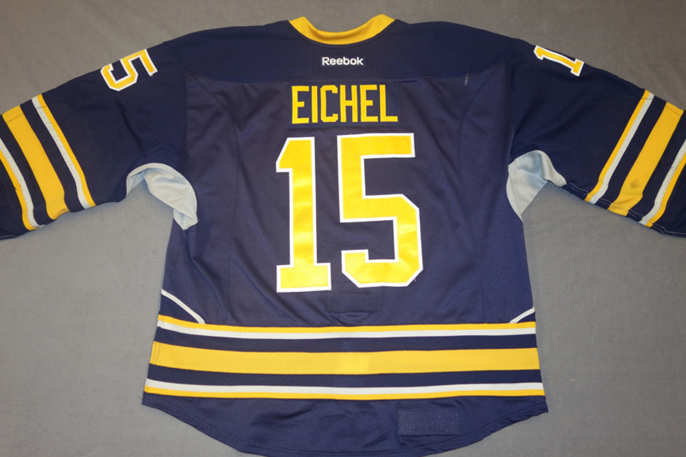 Jack Eichel Game Worn Buffalo Sabres Home Jersey