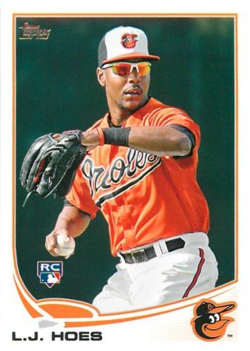 Photo of 2013 Topps #148 L.J. Hoes RC
