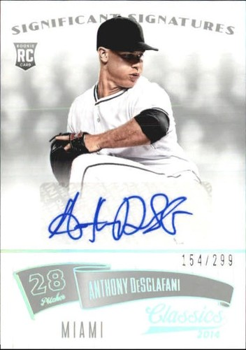 Photo of 2014 Classics Significant Signatures Silver #81 Anthony DeSclafani/299