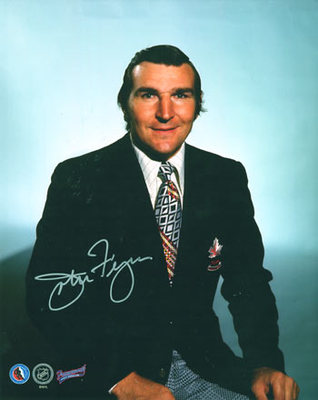JOHN FERGUSON 1972 Team Canada SIGNED 8x10 Photo Coach Photo (deceased)