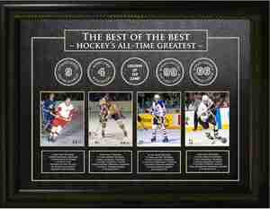 Best of the Best - Gordie Howe, Bobby Orr, Wayne Gretzky, & Mario Lemieux