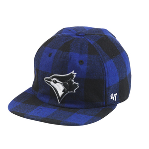 Toronto Blue Jays Arrowood Plaid Snapback by '47 Brand
