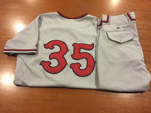 Photo of Jim Riggleman Game-Used Cincinnati Tigers Uniform