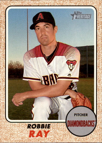 Photo of 2017 Topps Heritage #383 Robbie Ray