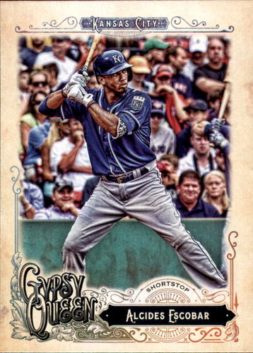 Photo of 2017 Topps Gypsy Queen #68 Alcides Escobar