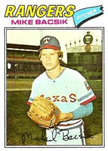 Photo of 1977 Topps #103 Mike Bacsik RC