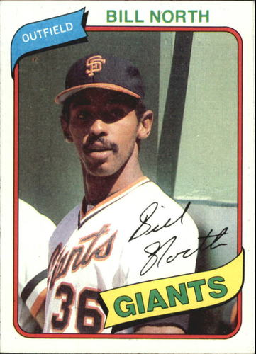 Photo of 1980 Topps #408 Bill North