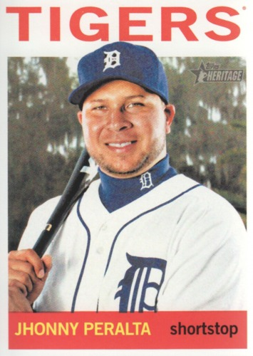 Photo of 2013 Topps Heritage #235 Jhonny Peralta