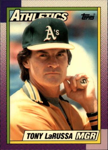 Photo of 1990 Topps Tiffany #639 Tony LaRussa MG
