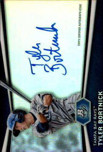 Photo of 2012 Bowman Platinum Prospect Autographs #TBK Tyler Bortnick