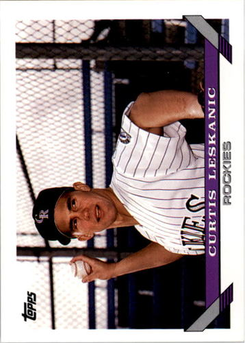Photo of 1993 Topps #774 Curt Leskanic RC