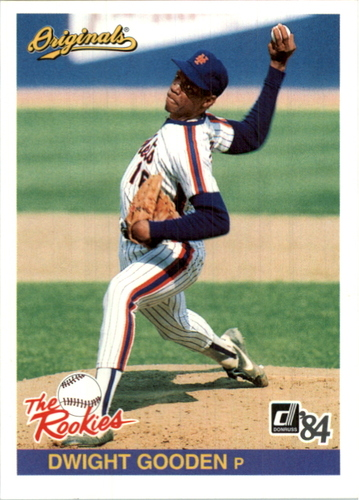 Photo of 2002 Donruss Originals What If Rookies #14 Dwight Gooden 84