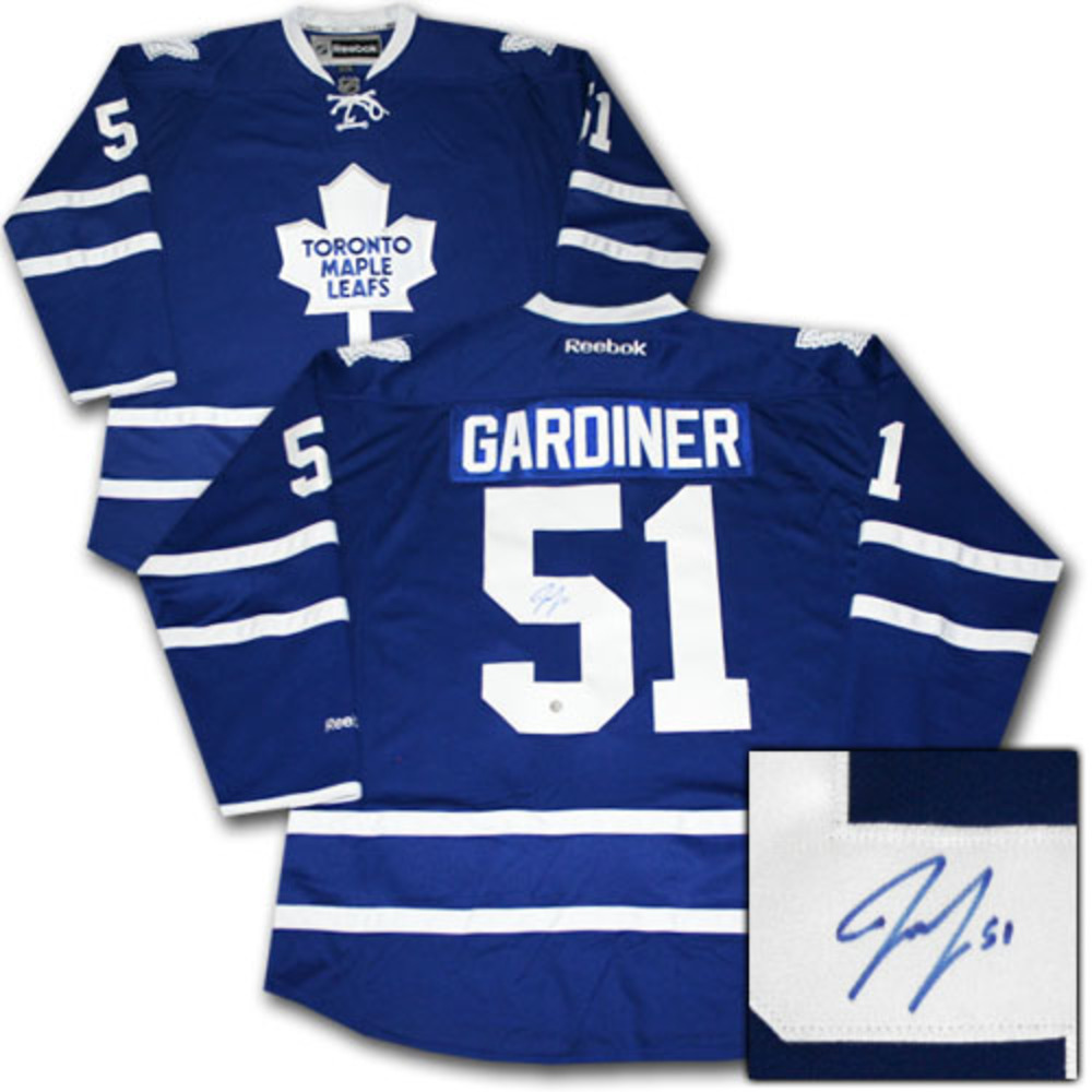 Jake Gardiner Autographed Toronto Maple Leafs Jersey