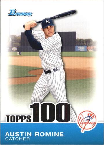 Photo of 2010 Bowman Topps 100 Prospects #TP30 Austin  -- Yankees post-season