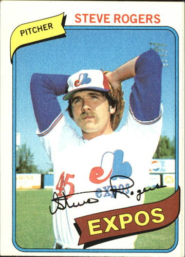 Photo of 1980 Topps #520 Steve Rogers