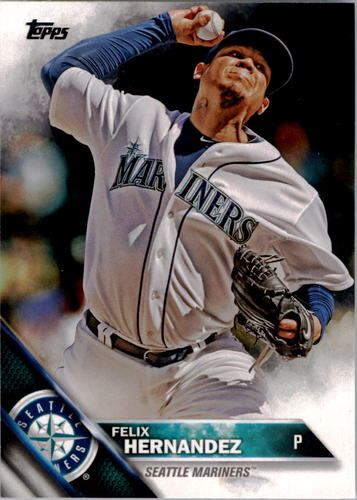 Photo of 2016 Topps #283 Felix Hernandez