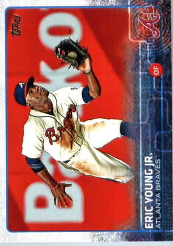 Photo of 2015 Topps Update #US262 Eric Young Jr.