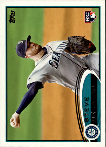Photo of 2012 Topps #263 Steve Delabar RC