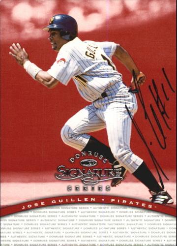 Photo of 1997 Donruss Signature Autographs #48 Jose Guillen/2900