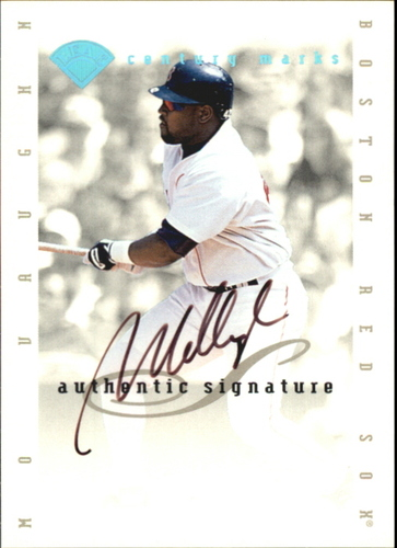 Photo of 1996 Leaf Signature Extended Autographs Century Marks #30 Mo Vaughn