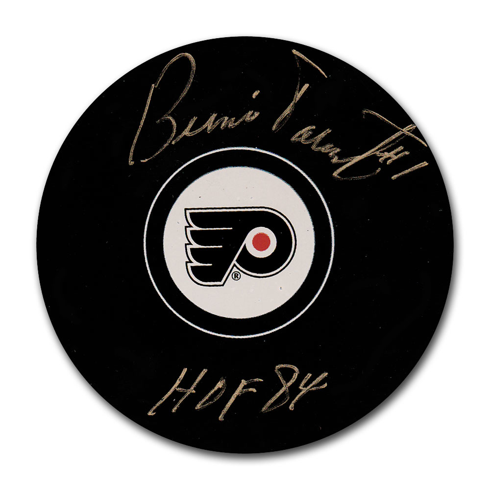 Bernie Parent Autographed Philadelphia Flyers Puck