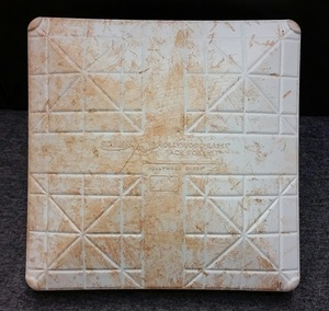 Authenticated Game Used 2nd Base from Sept 22, 2015 vs New York Yankees - Used innings 1-5