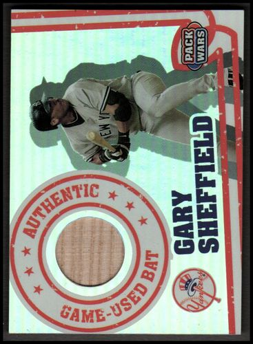 Photo of 2005 Topps Pack Wars Relics #GS Gary Sheffield Bat B