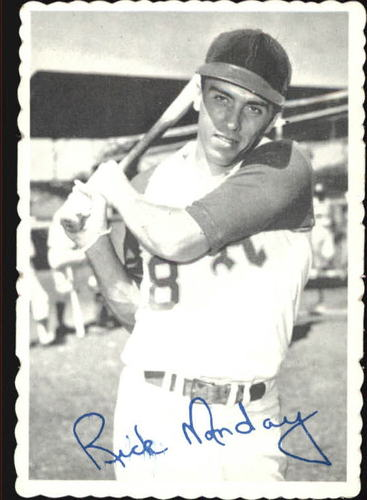 Photo of 1969 Topps Deckle Edge #14 Rick Monday