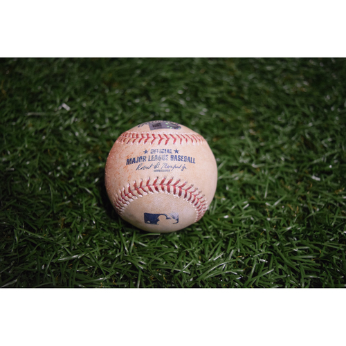 Photo of Game-Used Baseball: Aaron Judge double off Matt Andriese