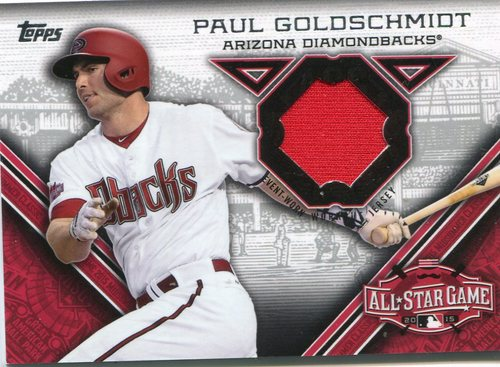 Photo of 2015 Topps Update All Star Stitches Paul Goldschmidt