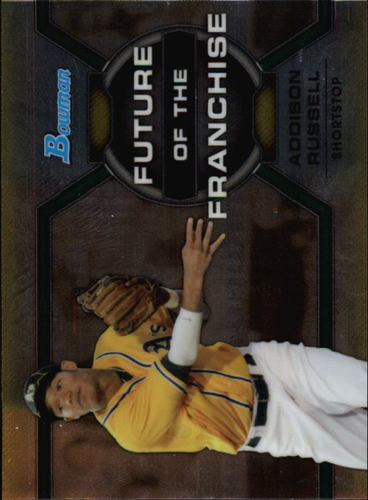 Photo of 2013 Bowman Draft Future of the Franchise #AR Addison Russell Cubs post-season