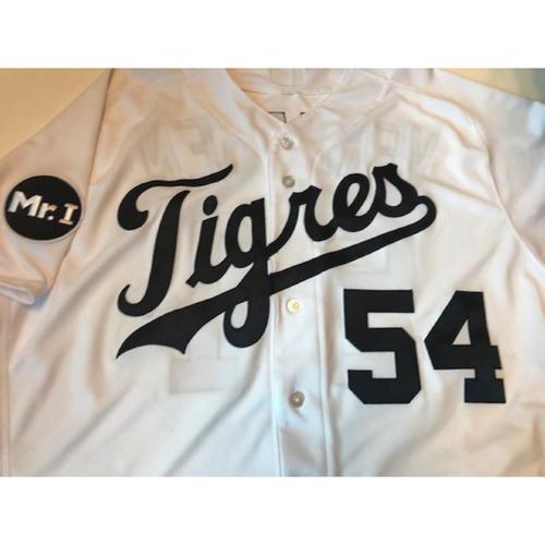 Photo of Game-Used Fiesta Tigres Jersey: Drew VerHagen