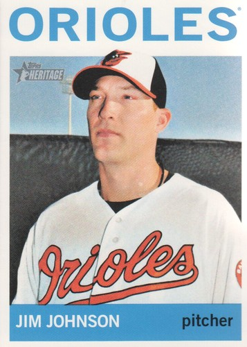 Photo of 2013 Topps Heritage #236 Jim Johnson