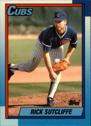 Photo of 1990 Topps Tiffany #640 Rick Sutcliffe