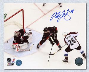 Paul Stastny Colorado Avalanche Autographed Goal Scoring 8x10 Photo *St. Louis Blues*