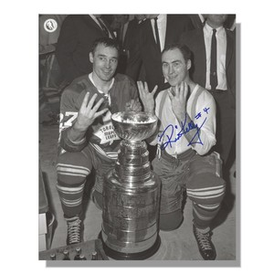 Red Kelly Autographed Toronto Maple Leafs 8x10 Photo