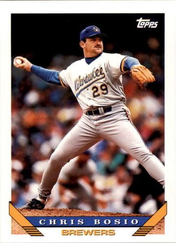 Photo of 1993 Topps #775 Chris Bosio