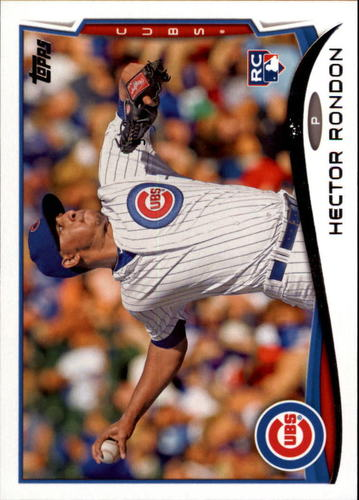 Photo of 2014 Topps Update #US144 Hector Rondon Rookie Card Cubs post-season