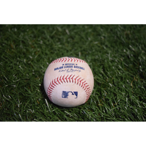Photo of Game-Used Baseball: Mallex Smith triple off Rick Porcello - 7/8/17 v BOS