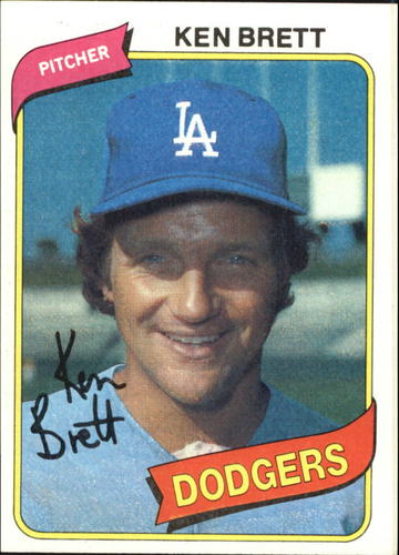 Photo of 1980 Topps #521 Ken Brett