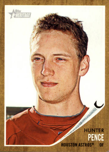 Photo of 2011 Topps Heritage #354 Hunter Pence